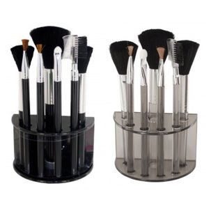 7-Piece Cosmetic Brush Set With Stand